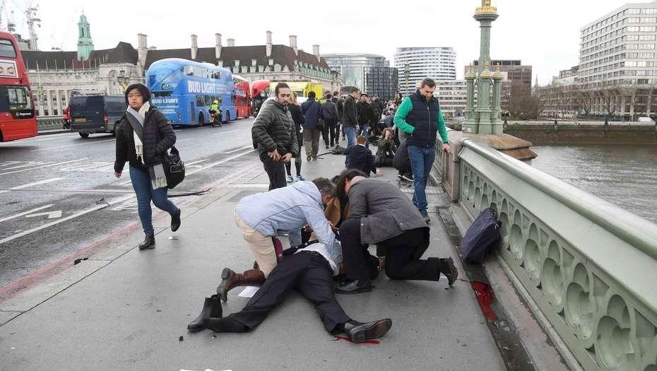 Tiroteo en Londres frente al Parlamento