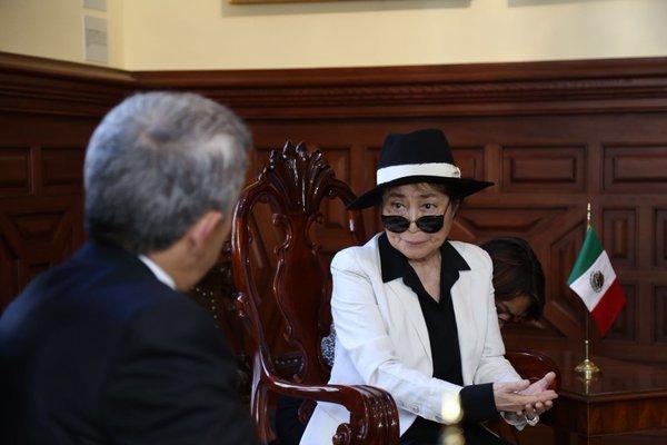 LA TIERRA DE ESPERANZA DE YOKO ONO INVADE LA CAPITAL
