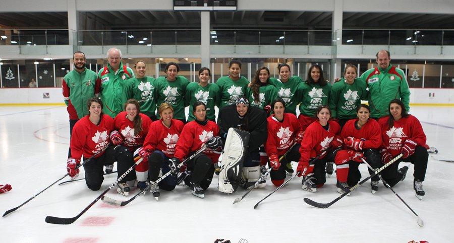 Selección femenil prepara el Mundial de Hockey sobre Hielo