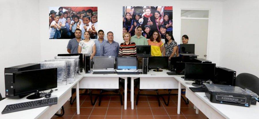 Canaliza DIF Chiapas donativo en beneficio de las y los jóvenes