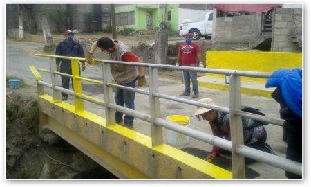 Limpia Tlalpan calles del pueblo la Magdalena Petlacalco