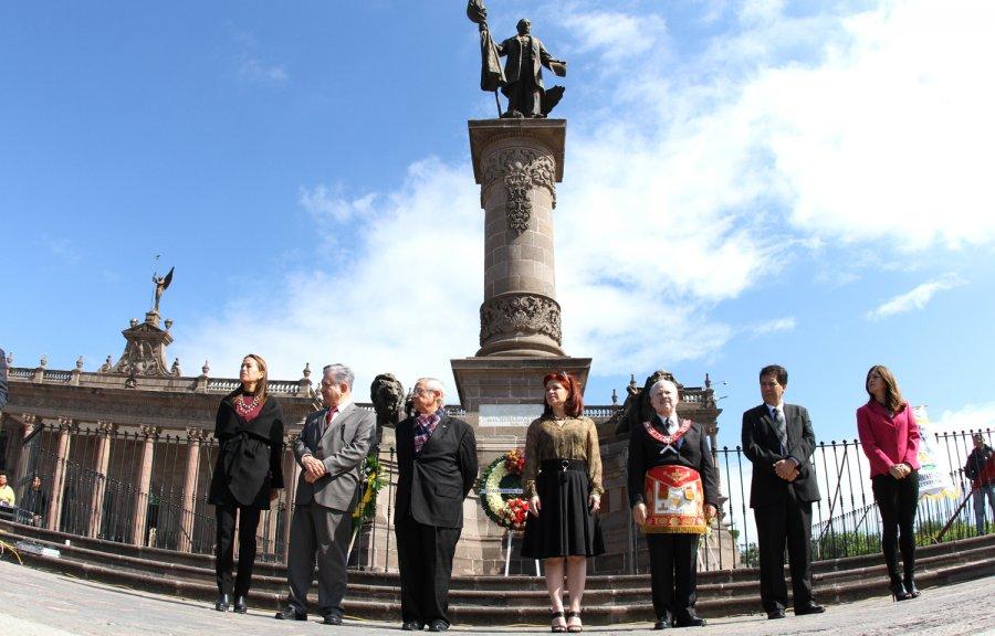 Recuerdan legado de Benito Juárez