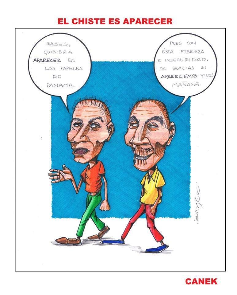 EL CHISTE ES APARECER #PANAMAPAPERS