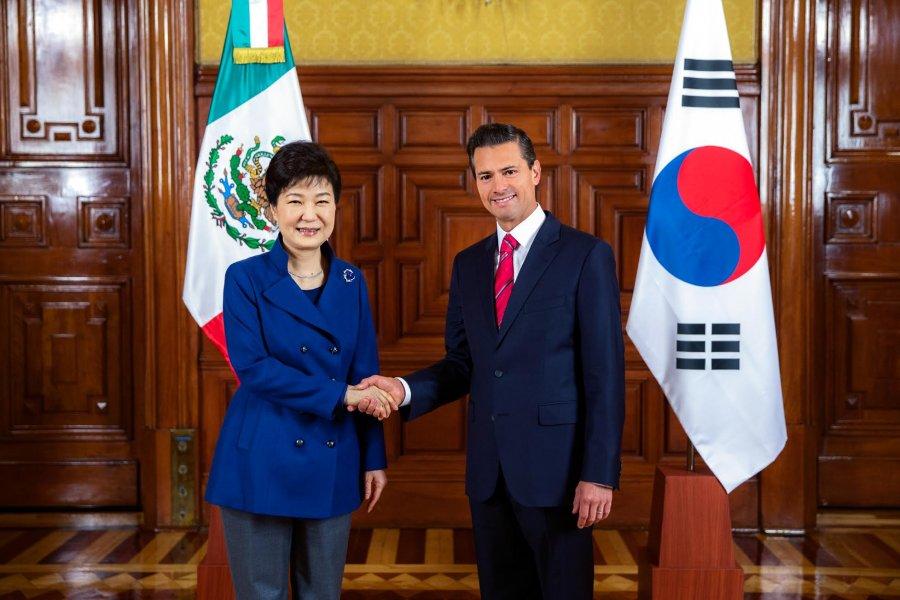 Visita Oficial de la Presidenta de la República de Corea, Park Geun-hye