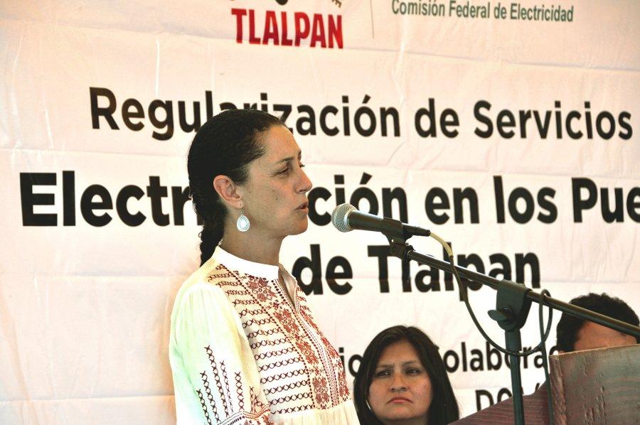 """DAN TLALPAN Y CFE BANDERAZO DE INICIO A  OBRAS DE ELECTRIFICACIÃ""""N PARA CALLES DE LA DELEGACIÃ""""N"""