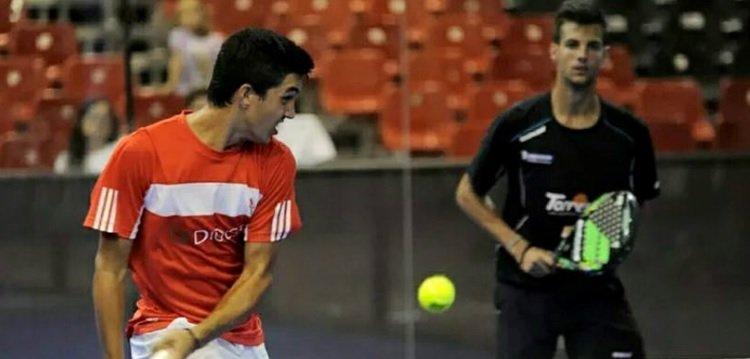Pablo Acevedo, semifinalista del VI Open Egalite de Pádel