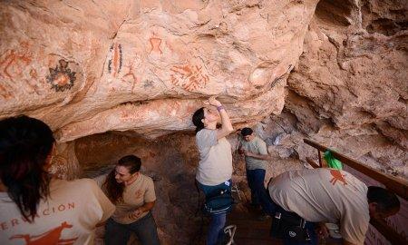 Se cumplen diez años de investigación arqueológica y restauración en La Pintada, Sonora