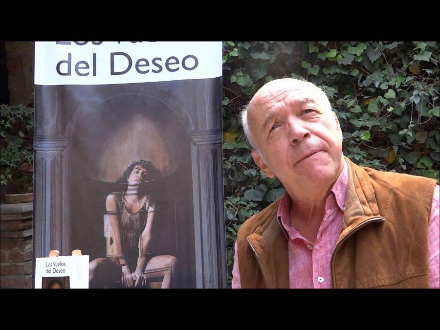 Manelick de la Parra presentará la quinta edición de su novela Los vuelos del deseo