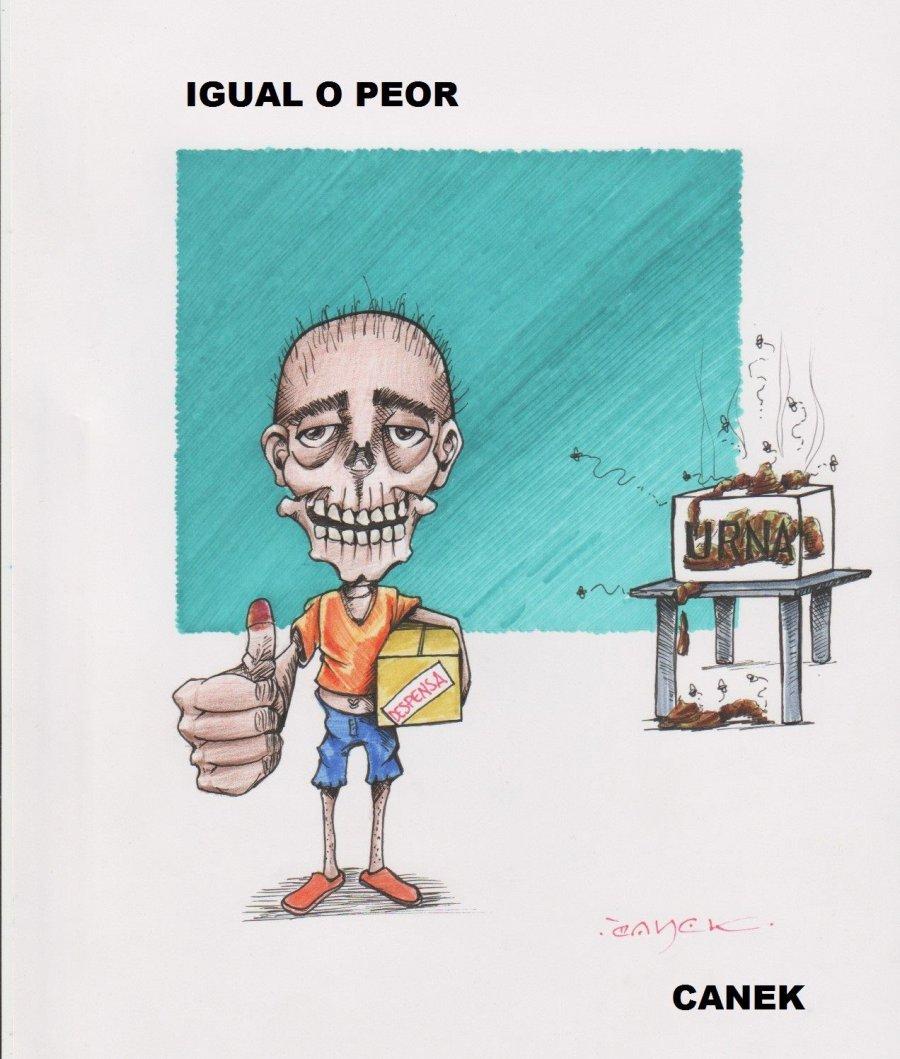 IGUAL O PEOR