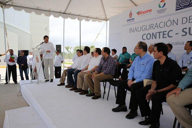 Inaugura Malova planta Sumitomo automotriz en Guasave y El Carrizo con inversión de 114 mdp