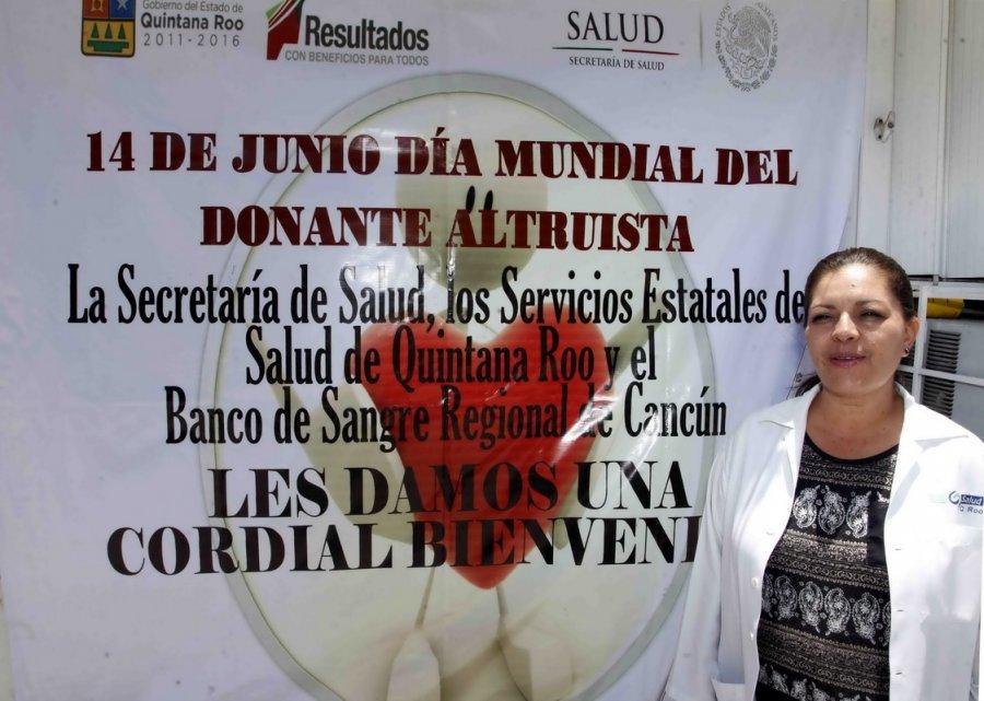 CONMEMORAN DÍA MUNDIAL DEL DONANTE ALTRUISTA