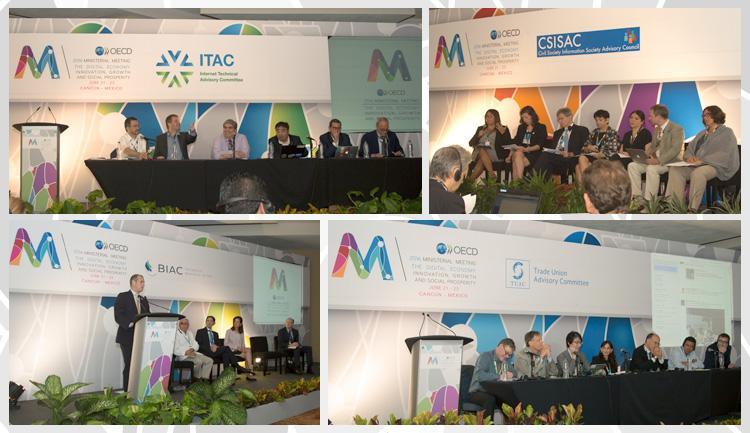 Foro de Stakeholders en la Reunión Ministerial de Economía Digital 2016