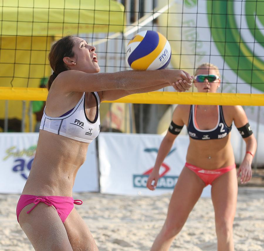 Plata y bronce para México en la Copa Continental de Voleibol de Playa