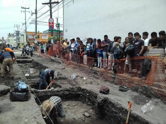 Nuevos hallazgos arqueológicos en Cuautitlán
