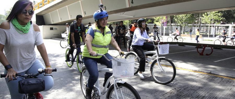 Arrancan Bici Tours en Miguel Hidalgo
