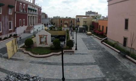 Gobierno del Estado inicia con obras de rehabilitación del Jardín de los palacios