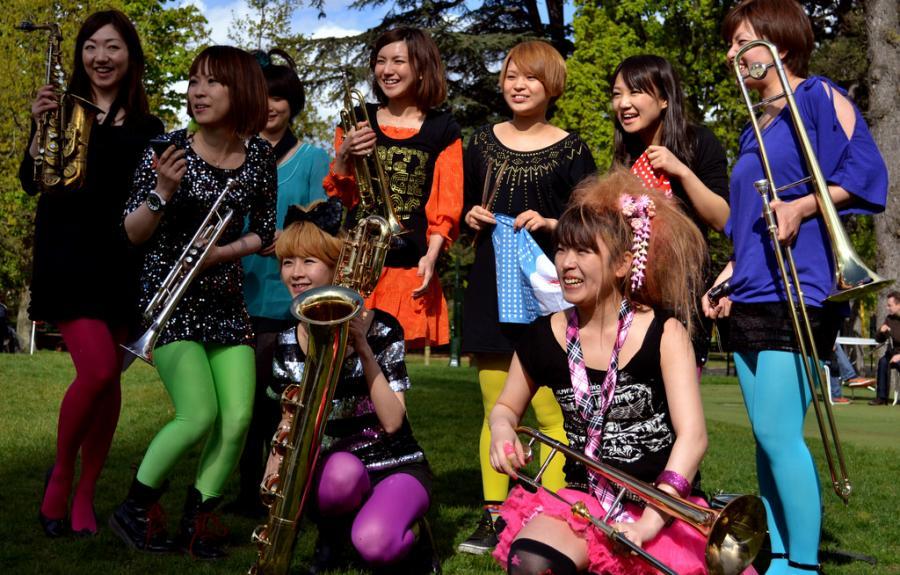 Tokyo Brass Style pone a bailar al público mexicano con éxitos del anime japonés