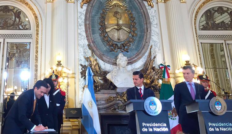 México refuerza su relación bilateral con Argentina