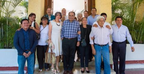 Recibe Héctor Astudillo a mayordomos del Barrio de San Francisco de Chilpancingo