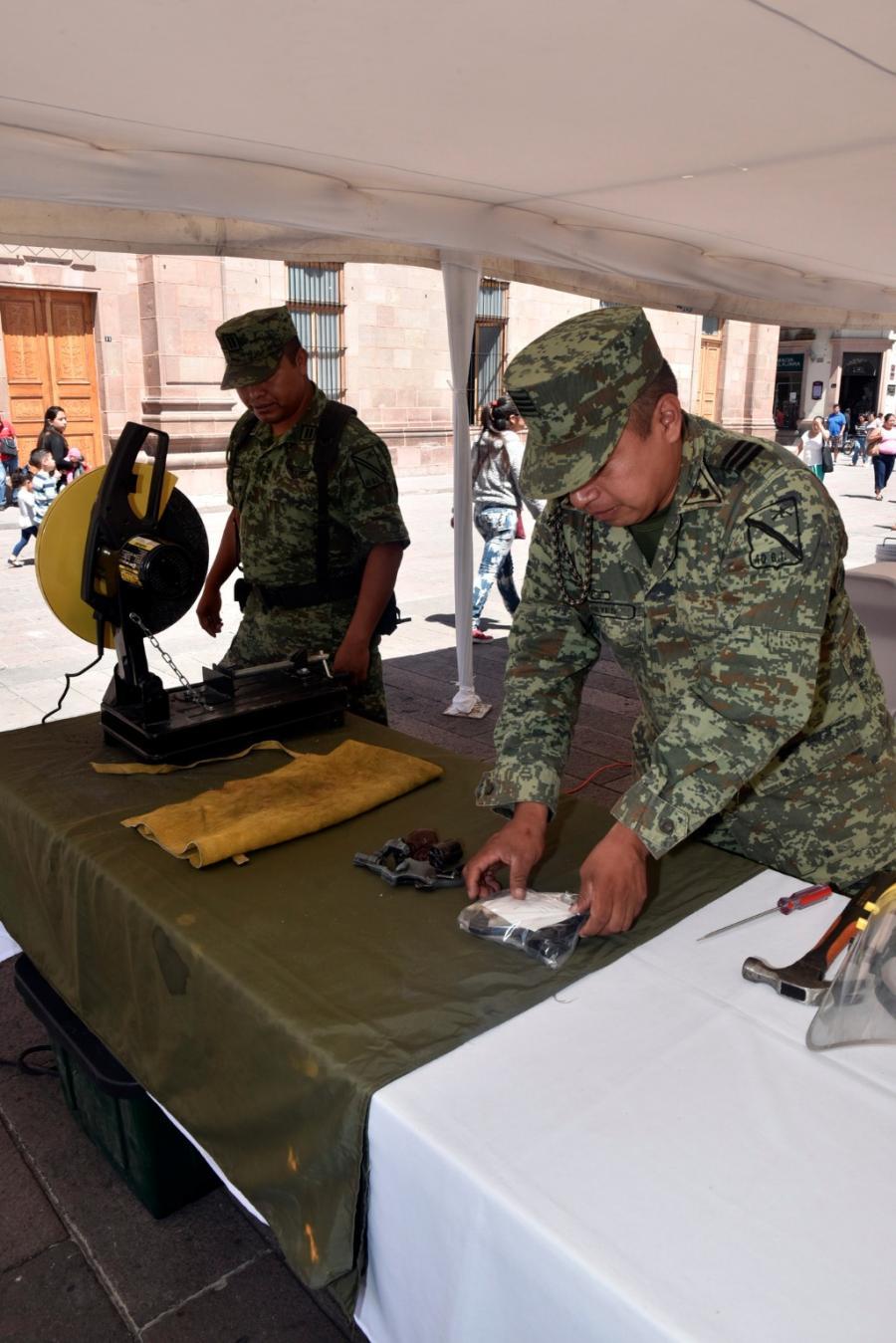 LA SEDENA INICIA LA CAMPAÑA DE CANJE DE ARMAS EN EL ESTADO DE SAN LUIS POTOSÍ