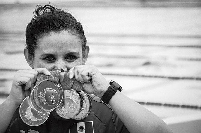 Nely Miranda cumple años con la meta de regresar al podio paralímpico en Río 2016