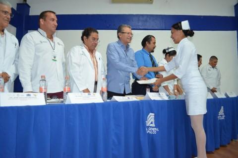 El Hospital General de Acapulco, institución modelo en cuanto a la formación de personal de enfermería