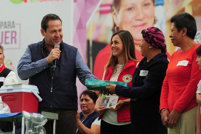 Entregarán becas y apoyos para proyectos productivos a mujeres víctimas de trata