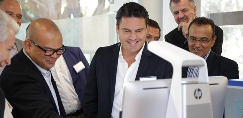 Logra Gobierno de Jalisco nueva inversión de HP para el Estado