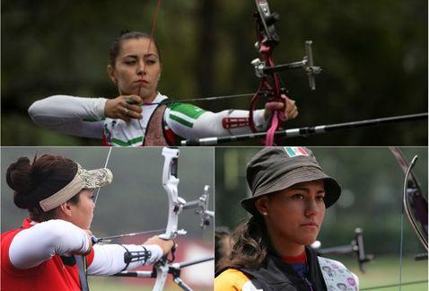 Concluye participación de equipo de tiro con arco femenil en Río 2016
