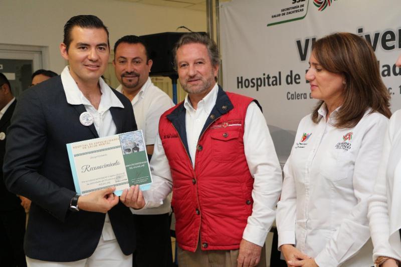 Celebra Hospital de Especialidades en Salud Mental su sexto aniversario