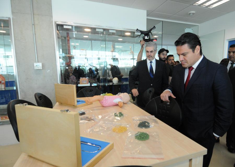 Aplaude Gobernador apuesta de universidades por la innovación