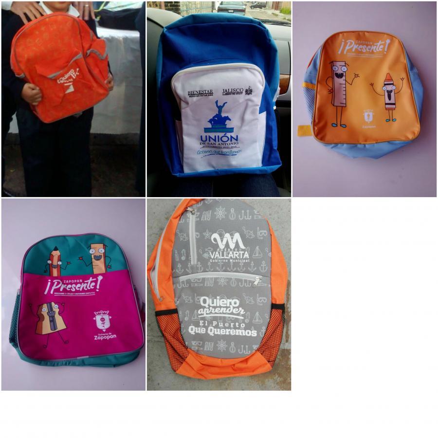 SEDIS invita a munícipes a no usar mochilas como publicidad para sus gobiernos o partidos