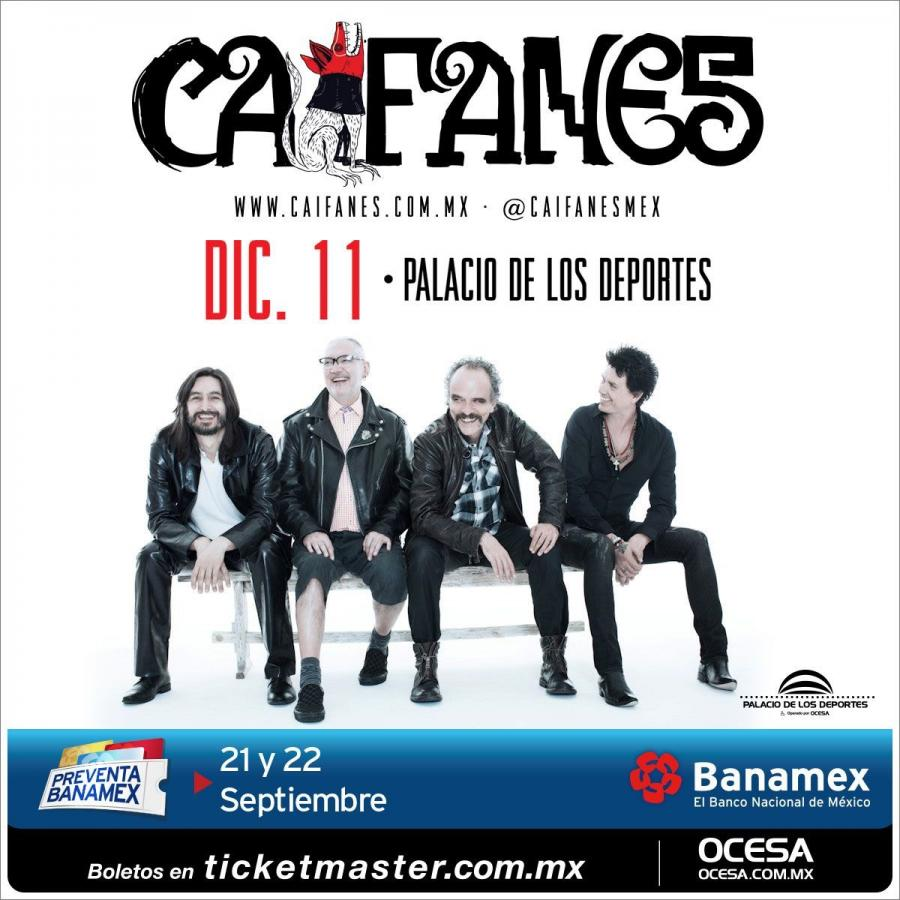 Caifanes vuelve a los escenarios de la Capital para ofrecer un emotivo concierto