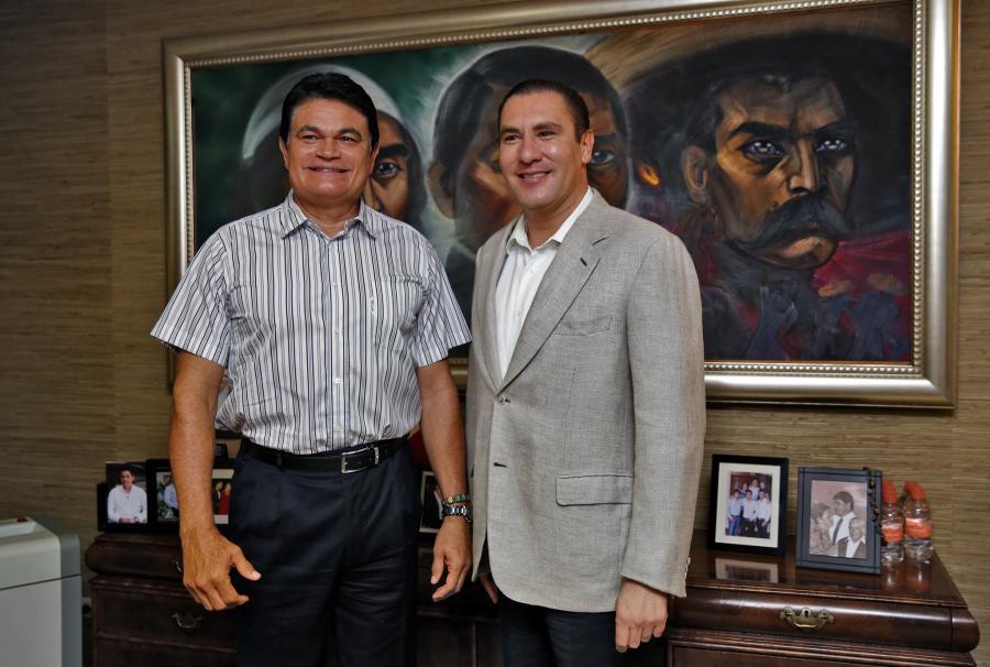 Estrechan lazos de amistad los gobiernos de Sinaloa y Puebla