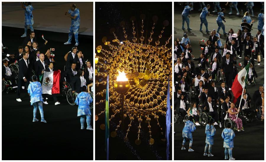 Luce México en la inauguración de los Juegos Paralímpicos Río 2016