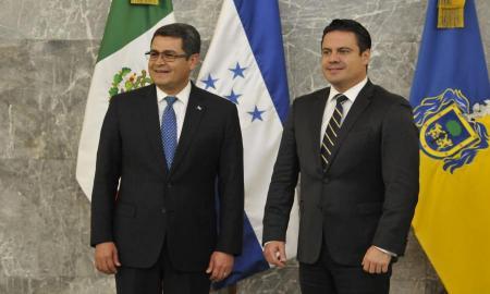 Jalisco y Honduras proyectan intercambios comerciales en innovación y tecnología