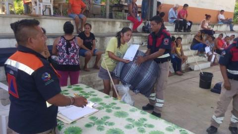 Gobierno del estado ha entregado apoyos inmediatos a la población afectada por lluvias: SPC
