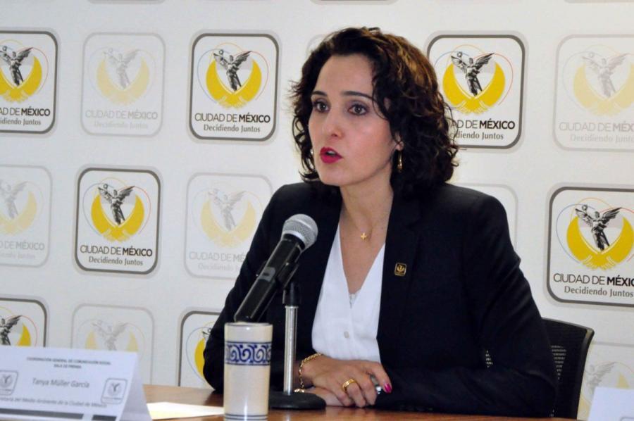 Acude Tanya Müller a reunión en la ALDF