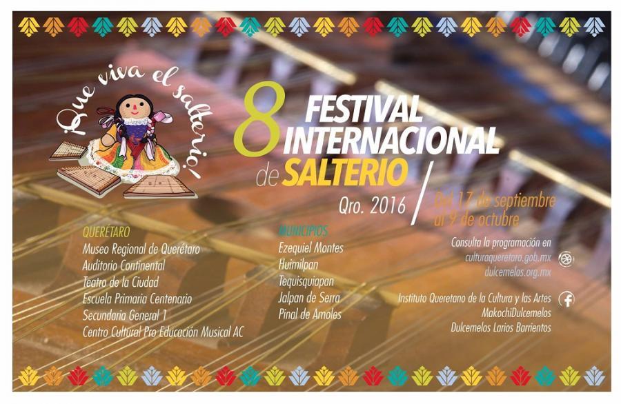 Preparan el Octavo Festival Internacional del Salterio, en Querétaro