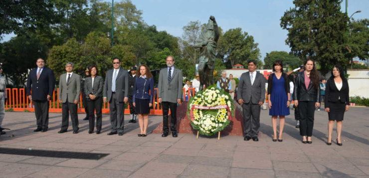 Celebra Azcapotzalco la CLXIX de la Gesta Heroica de los Niños Héroes