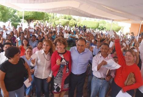 Impulsamos 150 microempresarios para fortalecer al sector productivo: HAF