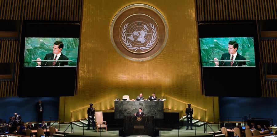 Debate General de la Asamblea General de la ONU en su 71º Periodo de Sesiones