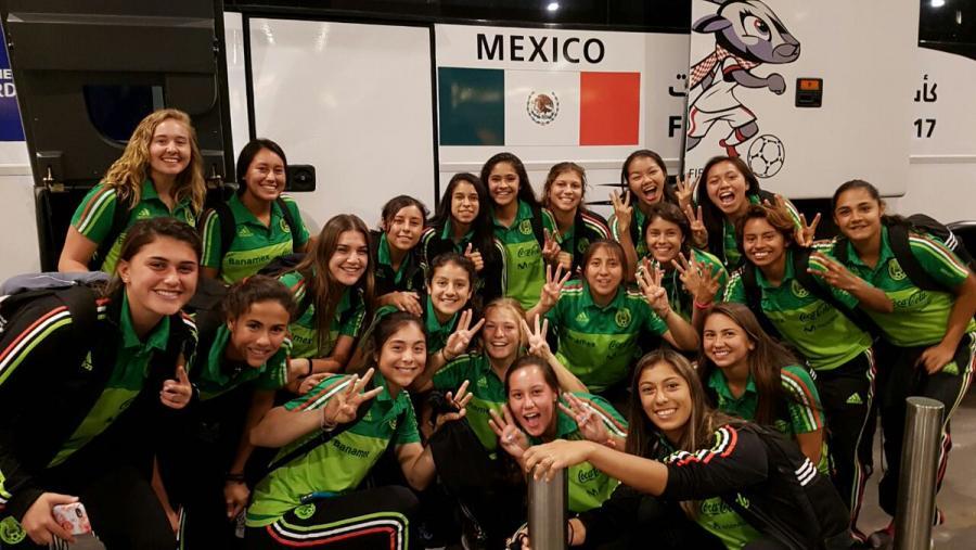 'Tri' femenil Sub-17 listas para Mundial en Jordania