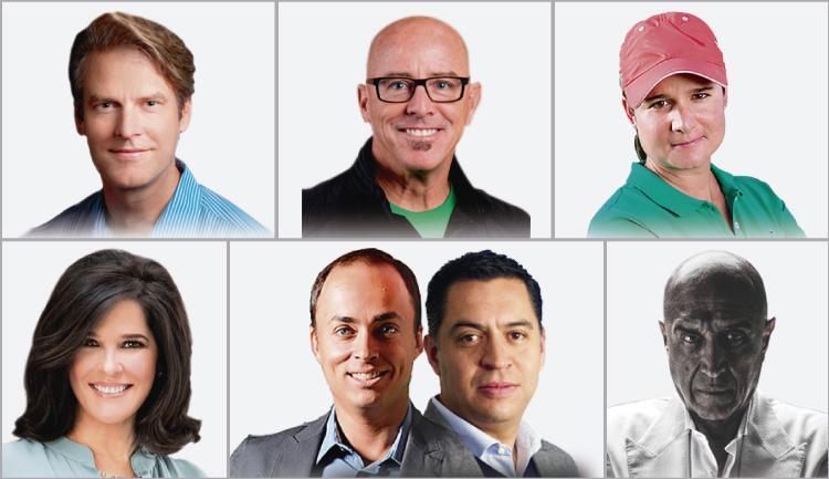 Conoce algunos de los ponentes de las 450 conferencias impartidas en la Semana Nacional del Emprendedor