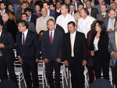 JM CARRERAS ASISTE AL PRIMER INFORME DEL AYUNTAMIENTO DE LA CAPITAL