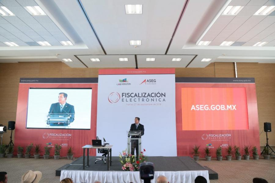 Guanajuato hace historia al poner en marcha el Proceso de Fiscalización Electrónica: MMM