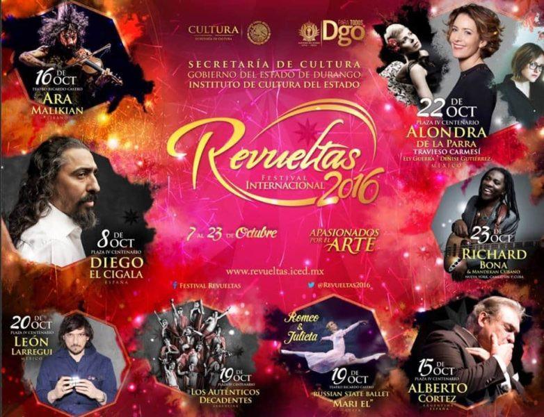 A la venta los boletos del Festival Internacional Revueltas