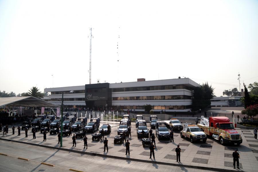 GAM CUENTA CON EL CUERPO POLICÍACO MÁS GRANDE DE LAS DELEGACIONES: VHL