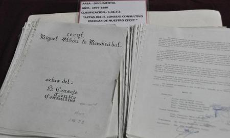 Cumple un lustro, el archivo histórico del CECyT 6