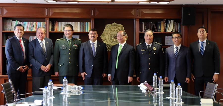 ESTABLECEN SSP-CDMX Y GOBIERNO DE CHINA ACUERDOS DE COOPERACIÓN EN MATERIA DE SEGURIDAD